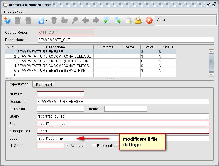 amministrazione stampe -logo - software gestionale atlantis evo