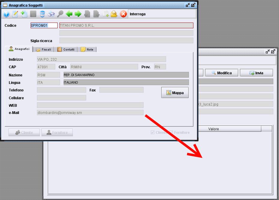 creare collegamento di un documento ad un altro archivio-1 - software gestionale Atlantis Evo