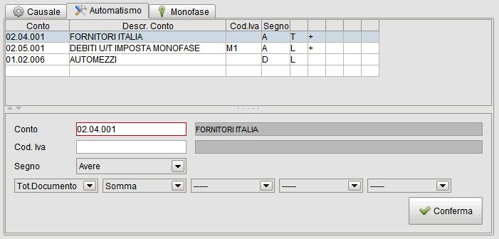 registrazione fattura import beni strumentali per San Marino-1 - software gestionale Atlantis Evo