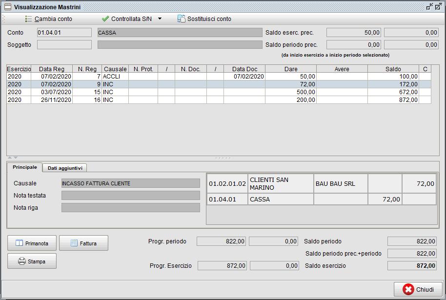 Visualizzazione mastrini-1   Software contabilità Atlantis Evo
