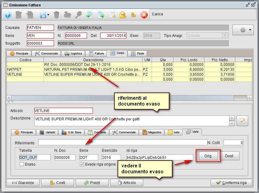 Creare fattura da ddt-3 - Software gestionale Atlantis Evo