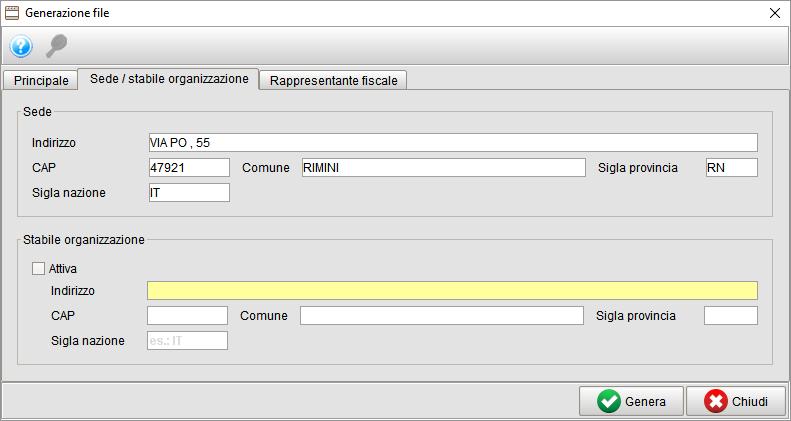 Generazione file spesometro 2 - gestionale Atlantis Evo