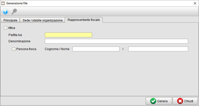 Generazione file spesometro 3 - gestionale Atlantis Evo