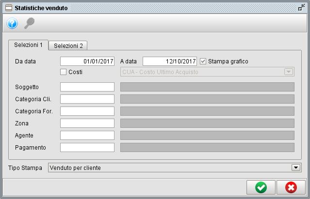Statistiche vendite con il software gestionale Atlantis Evo