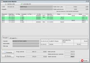 Funzione del controllo registrazione nei mastrini contabili - software gestionale Atlantis Evo